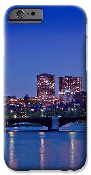 Boston Nights 2 iPhone Case by Joann Vitali