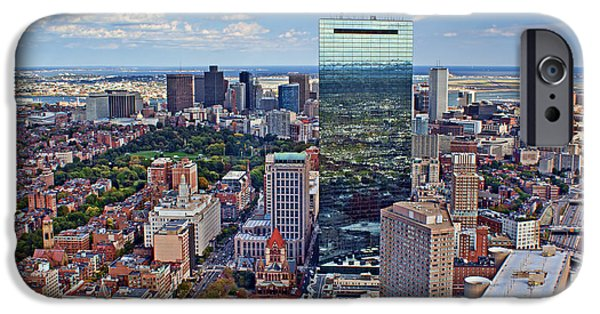 City. Boston iPhone Cases - Boston iPhone Case by Nikolyn McDonald