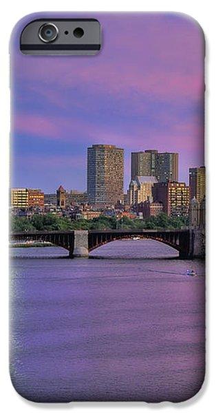 Boston Pastel Sunset iPhone Case by Joann Vitali