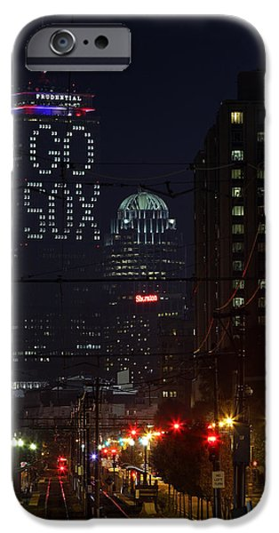 Boston Red Sox iPhone Cases - Boston Prudential Center with Message Go Sox iPhone Case by Juergen Roth
