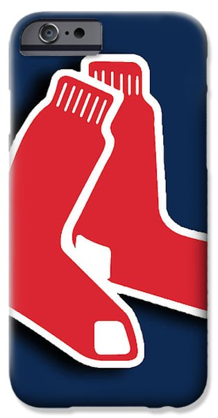 Boston Red Socks iPhone Case by Tony Rubino