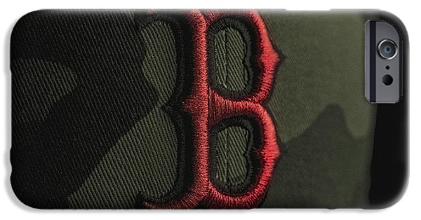 Boston iPhone Cases - Boston Red Sox iPhone Case by David Haskett