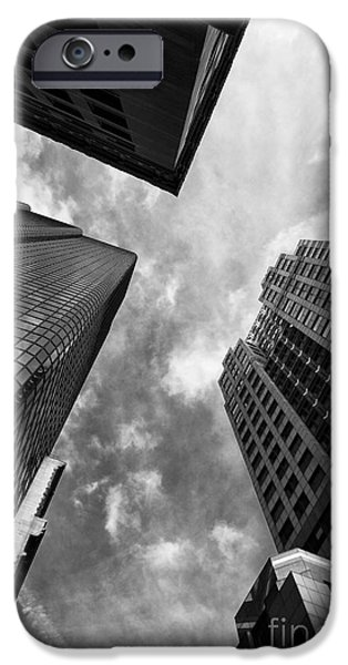 City. Boston iPhone Cases - Boston Rising iPhone Case by John Rizzuto