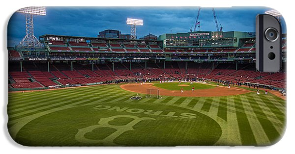 Recently Sold -  - Fenway Park iPhone Cases - Boston Strong iPhone Case by Paul Treseler