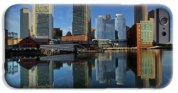 City. Boston iPhone Cases - Boston Tea Party iPhone Case by Juergen Roth