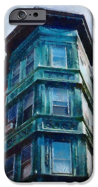 United iPhone Cases - Bostons North End iPhone Case by Jeff Kolker