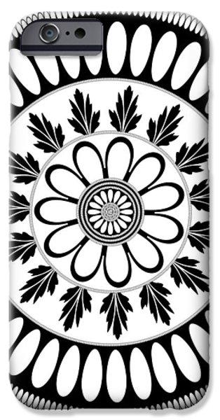 Botanical Ornament iPhone Case by Frank Tschakert
