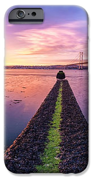 Both Forth Bridges iPhone Case by John Farnan