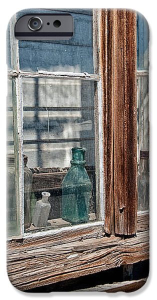 Bottles in the Window iPhone Case by Cat Connor