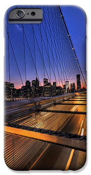 Cities Photographs iPhone Cases - Bound For Greatness iPhone Case by Evelina Kremsdorf