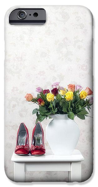 bouquet of roses iPhone Case by Joana Kruse