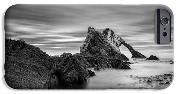 Beautiful Scenery iPhone Cases - Bow Fiddle Rock 1 iPhone Case by Dave Bowman