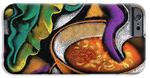 Implement iPhone Cases - Bowl of Soup iPhone Case by Leon Zernitsky