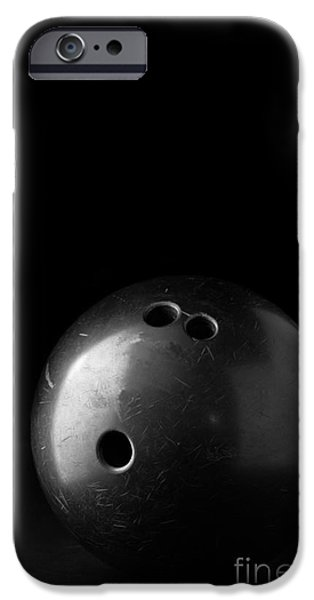 Bowling iPhone Cases - Bowling Ball iPhone Case by Edward Fielding