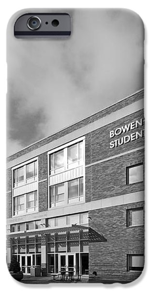 Bowling Green State University Bowen-Thompson Student Union iPhone Case by University Icons