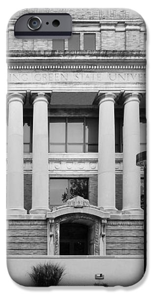 Bowling Green State University Hall iPhone Case by University Icons