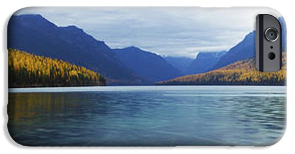 West Fork iPhone Cases - Bowman Lake iPhone Case by Jessie Mazur