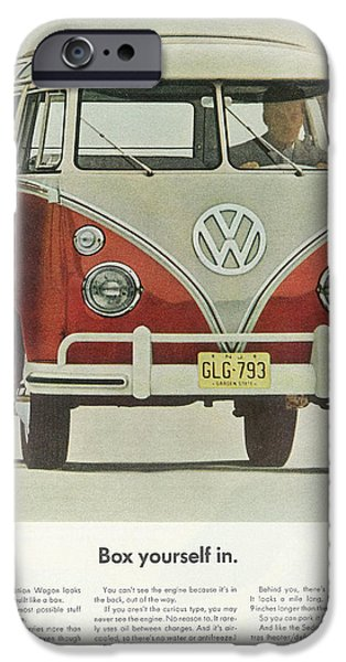 Old Bus Stations iPhone Cases - Box Yourself In iPhone Case by Nomad Art And  Design