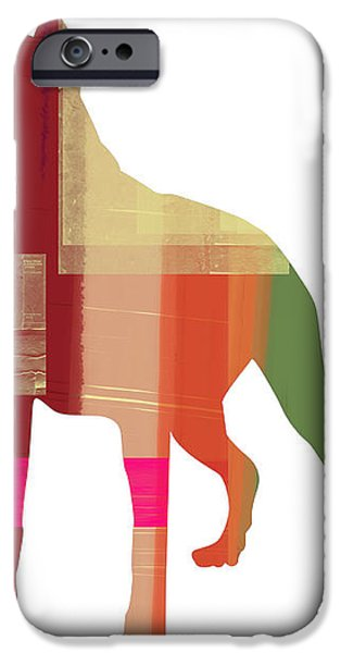 Boxer 2 iPhone Case by Naxart Studio