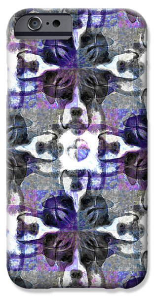 Boxer Abstract 20130126v3 iPhone Case by Wingsdomain Art and Photography