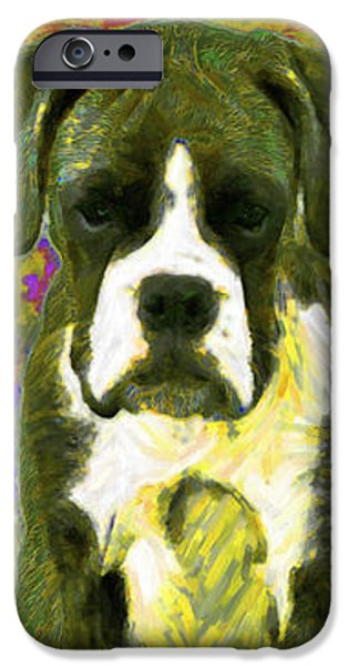 Boxer Three 20130126 iPhone Case by Wingsdomain Art and Photography