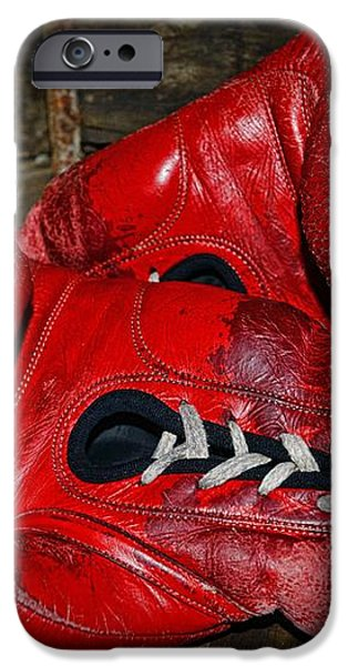 Boxing Gloves iPhone Case by Paul Ward