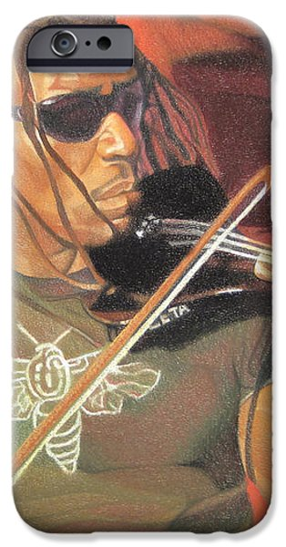 Boyd Tinsley at Red Rocks iPhone Case by Joshua Morton