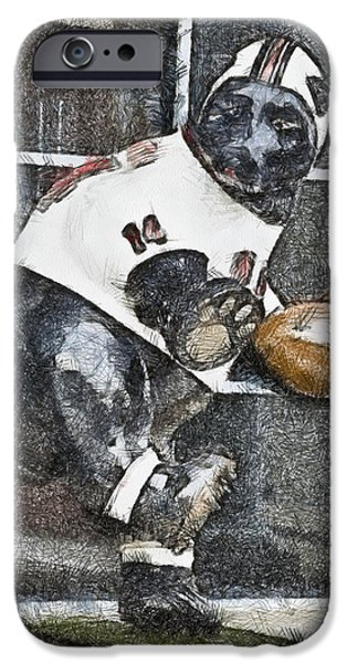 Mascots Mixed Media iPhone Cases - Boyertown Bear iPhone Case by Trish Tritz