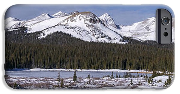 Nederland iPhone Cases - Brainard Lake iPhone Case by Aaron Spong
