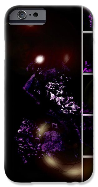 Duchess Mixed Media iPhone Cases - Brainscan Of The Duchess Of Cabbage In Labor Part Two iPhone Case by Sir Josef Putsche