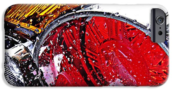 Business iPhone Cases - Brake Light 22 iPhone Case by Sarah Loft