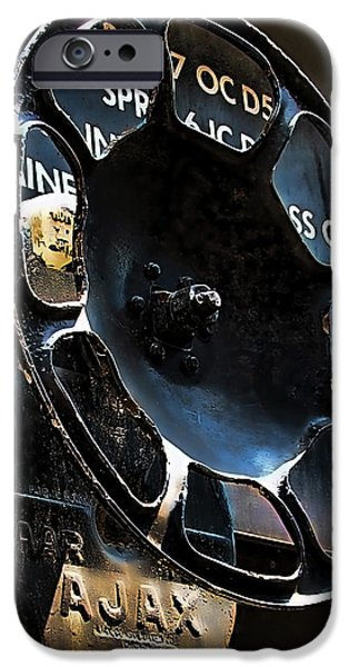Braking iPhone Case by Wendy J St Christopher