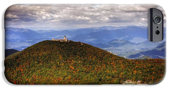 Chrystal iPhone Cases - Brasstown Bald iPhone Case by Chrystal Mimbs