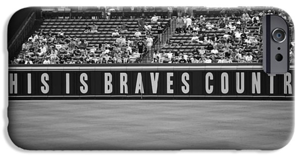 Stand iPhone Cases - Braves Country iPhone Case by Sara Jackson