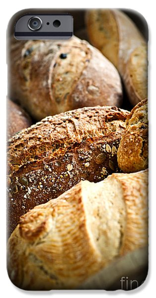 Bread iPhone Cases - Bread loaves iPhone Case by Elena Elisseeva