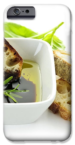 Bread olive oil and vinegar iPhone Case by Elena Elisseeva