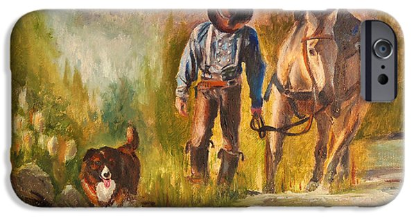 Chatham iPhone Cases - Break For The Ride iPhone Case by Karen Kennedy Chatham