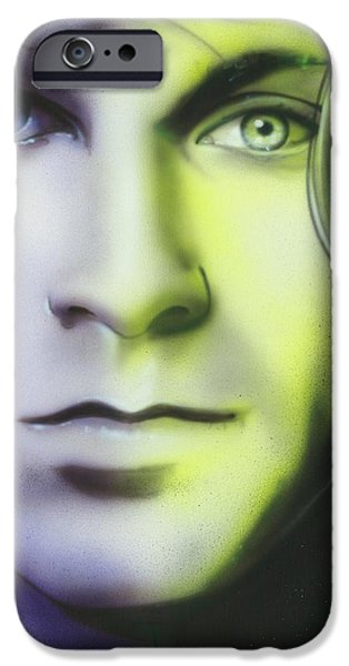 'Break on Through to Lithium' iPhone Case by Christian Chapman Art