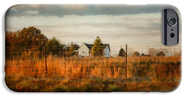 Autumn In The Country iPhone Cases - Breakfast At The Farm House iPhone Case by Jai Johnson