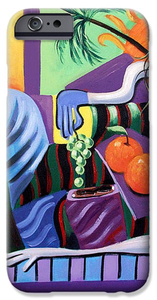 Breakfast At Tiffanie's  iPhone Case by Anthony Falbo