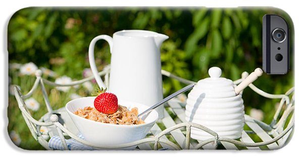 Al Fresco iPhone Cases - Breakfast Outdoor iPhone Case by Amanda And Christopher Elwell