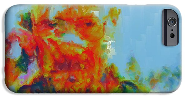 Drug Cartel iPhone Cases - Breaking Bad Paint Splatter iPhone Case by Brian Reaves