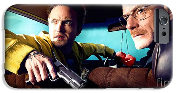 Series iPhone Cases - Breaking Bad iPhone Case by Paul Tagliamonte