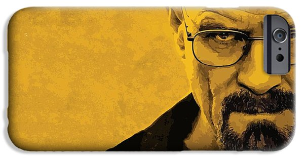 Chemistry iPhone Cases - Breaking Bad iPhone Case by Gianfranco Weiss
