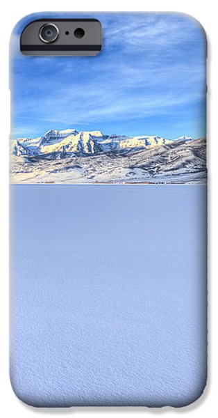 Breaking Ice iPhone Case by Chad Dutson