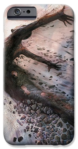Freedom iPhone Cases - Breaking The Mold iPhone Case by Steve Goad