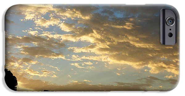 Morning iPhone Cases - Breaking Through iPhone Case by Glenn McCarthy Art and Photography