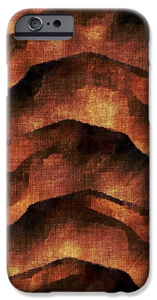 Abstract Movement iPhone Cases - Breaking Upwards iPhone Case by James Barnes