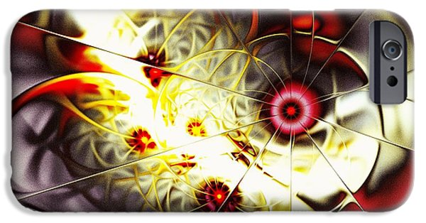 Penetration iPhone Cases - Breakthrough iPhone Case by Anastasiya Malakhova