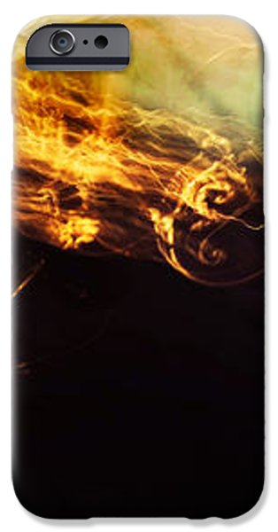 Breakthrough. Empowered by Light iPhone Case by Jenny Rainbow